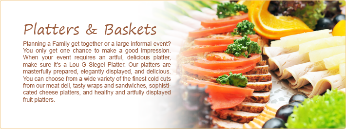 Platters &amp; Baskets