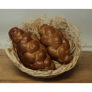 LGS Extra Large Ceremonial Challah (plain)