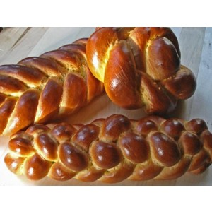 LGS Extra Large Ceremonial Challah (sesame seeds)