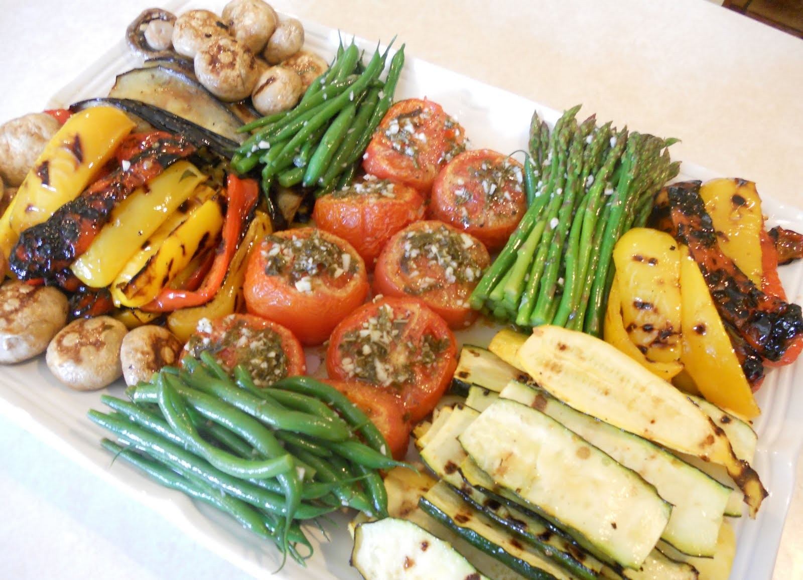 Grilled Vegetable Platter Fruits And Vegetables Platters Baskets Order Online Now