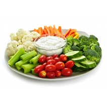 Sliced Vegetable Platter